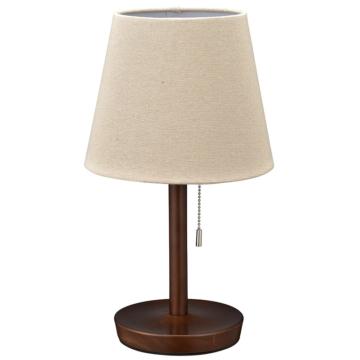 テーブルスタンド 木製 ブラウン 電球別売 [品番]06-3810