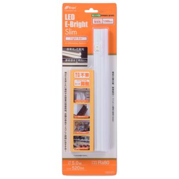 LEDイーブライトスリムライトバー 300mm 電球色 [品番]06-4071