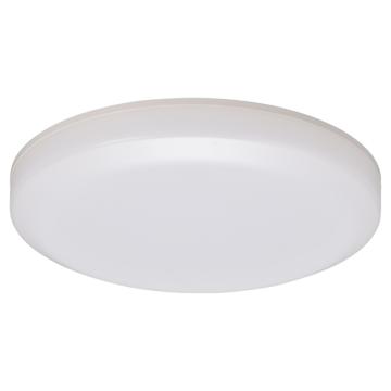防雨防湿型LEDシーリングライト フラット型 1050ルーメン 電球色 [品番]06-4085