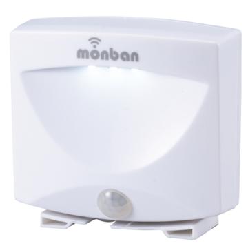 monban LEDセンサーフットライト 乾電池式 [品番]06-4210