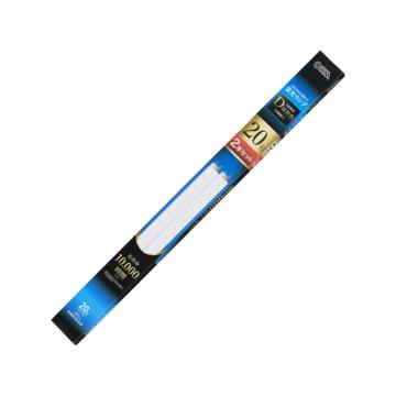 直管蛍光灯ランプ グロースタータ形 20形 昼光色 2本セット [品番]06-4502