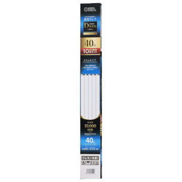 直管蛍光灯ランプ ラピッドスタート形 40形 昼光色 10本セット [品番]06-4505