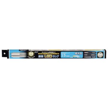 直管LEDランプ 15形相当 G13 昼光色 グロースターター器具専用 片側給電仕様[品番]06-3536