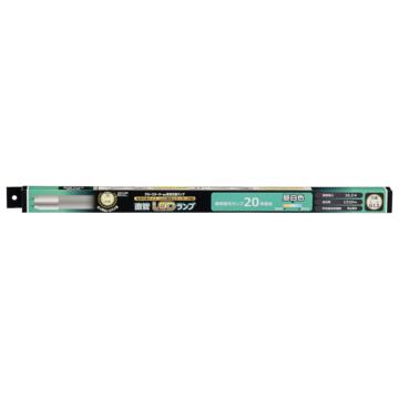 直管LEDランプ 20形相当 G13 昼白色 グロースターター器具専用 片側給電仕様[品番]06-3538