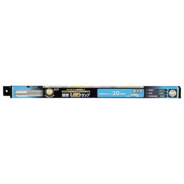 直管LEDランプ 20形相当 G13 昼光色 グロースターター器具専用 片側給電仕様[品番]06-3539