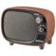 AudioComm Bluetoothスピーカー レトロ 木目調 [品番]03-0397