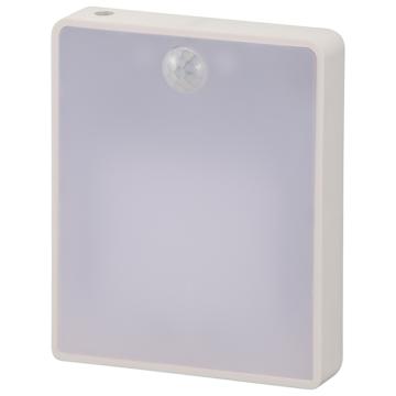 明暗・人感センサー式ナイトライト 薄型 [品番]06-4112