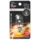 LEDナツメ球装飾用/T20/E12/0.5W/15lm/クリア電球色 [品番]06-4603