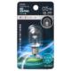 LEDナツメ球装飾用/T20/E12/0.5W/16lm/クリア昼白色 [品番]06-4604