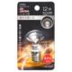 LEDミニボール球装飾用 G30/E17/1.2W/52lm/クリア電球色 [品番]06-4630
