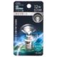 LEDミニボール球装飾用 G30/E17/1.2W/57lm/クリア昼白色 [品番]06-4631