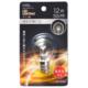 LEDサイン球装飾用 S35/E17/1.2W/55lm/クリア電球色 [品番]06-4643
