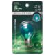 LEDサイン球装飾用 S35/E17/1.2W/6lm/クリア緑色 [品番]06-4647