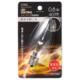 LEDシャンデリア形装飾用/C32/E17/0.8W/40lm/クリア電球色 [品番]06-4652