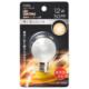 LEDミニボール球装飾用 G40/E17/1.2W/50lm/フロスト電球色 [品番]06-4660