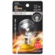 LEDミニボール球装飾用 G40/E17/1.2W/55lm/クリア電球色 [品番]06-4661