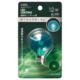 LEDミニボール球装飾用 G40/E17/1.2W/6lm/クリア緑色 [品番]06-4669