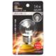 LEDミニボール球装飾用 G40/E26/1.4W/65lm/クリア電球色 [品番]06-4674