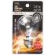 LED電球装飾用 PS/E26/1.4W/62lm/クリア電球色 [品番]06-4689