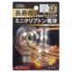 長寿命ミニクリプトン電球 E17 40W形 クリア 2個入 [品番]06-0586