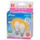 LED電球 小形 E17 40形相当 電球色 2個入 [品番]06-4321