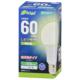 LED電球 E26 60形相当 昼白色 [品番]06-4344