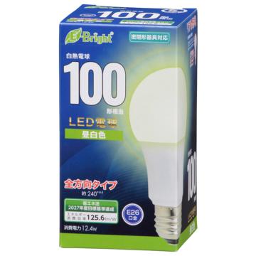 LED電球 E26 100形相当 昼白色 [品番]06-4347
