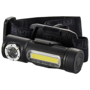 LEDマルチヘッドライト USB充電式 160lm [品番]08-0995