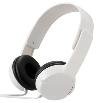AudioComm ステレオヘッドホンH125 ホワイト [品番]03-2280