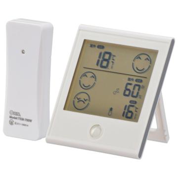 室外の気温がわかる温湿度計 [品番]08-0086