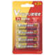 Vアルカリ乾電池 単3形 4本パック [品番]08-4043