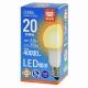 LED電球 E26 20形相当 電球色 [品番]06-3669