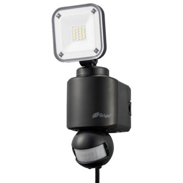 E-Brightコンセント式LEDセンサーライト 1灯 [品番]06-4242