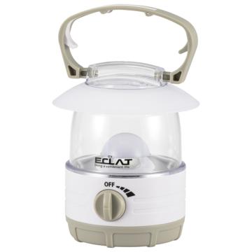 LEDランタンECLAT無段階調光 70lm 電球色 [品番]08-3128
