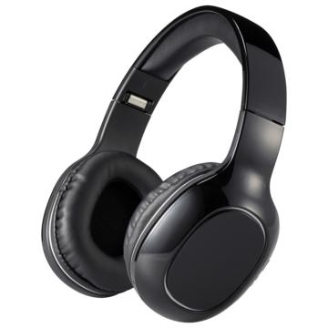AudioComm Bluetoothステレオヘッドホン ブラック [品番]03-0343