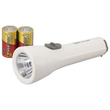 LED懐中ライト 65lm 乾電池付き [品番]08-0906