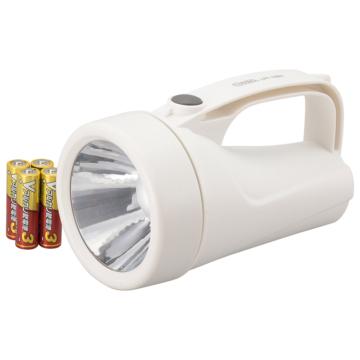 LED強力ライト 90lm 乾電池付き [品番]08-0908