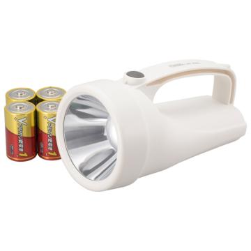 LED強力ライト 300lm 乾電池付き [品番]08-0910