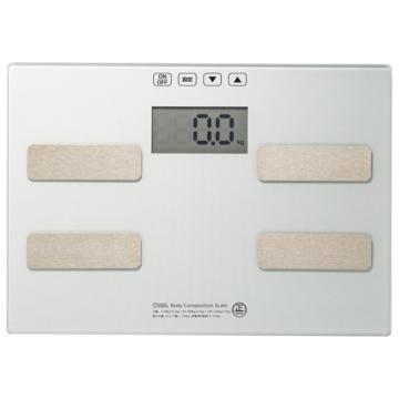 体重体組成計 シルバー [品番]08-3905