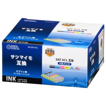 エプソン互換インク サツマイモ 6色パック [品番]01-3957