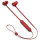 AudioComm ワイヤレスステレオインナーホン コントローラー一体型 レッド [品番]03-2284