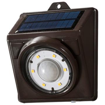 E-Bright センサーLEDソーラーライト200lm 電球色 [品番]06-3991