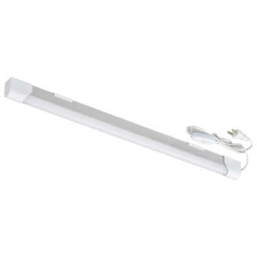LEDエコスリムチューブライト コンセントタイプ 10W 昼光色 [品番]06-4040
