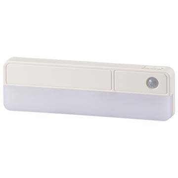 LEDセンサーライト 80lm 電池式 [品番]06-4110