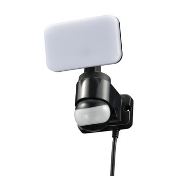 リモコン付LEDセンサーライト 1灯 コンセント式 [品番]07-8893