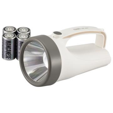 LED強力ライト 乾電池付 180lm [品番]08-0909