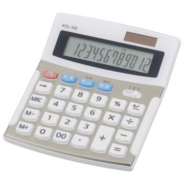 小型電卓 税率切り替え 12桁 [品番]07-8829