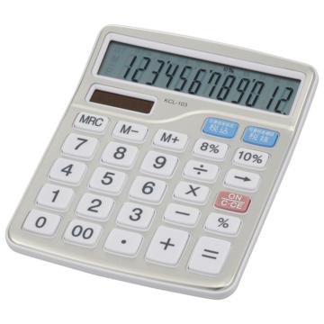 中横型電卓 税率切り替え 12桁 [品番]07-8830