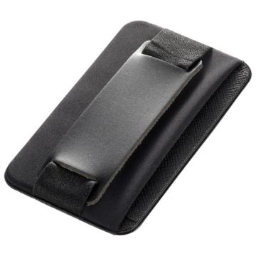 モバイルバンド カードポケット付き ブラック [品番]03-0486