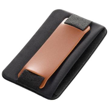 モバイルバンド カードポケット付き ブラウン [品番]03-0487